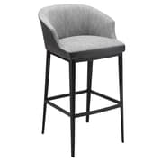 Union Rustic Verena 29.5'' Bar Stool; Gray