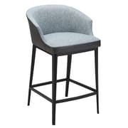Union Rustic Verena 25.5'' Bar Stool; Blue