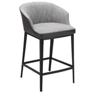 Union Rustic Verena 25.5'' Bar Stool; Gray