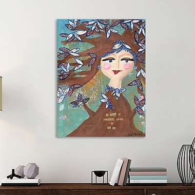 Winston Porter 'This Beautiful Season' Graphic Art Print on Wrapped Canvas; 32'' H x 24'' W