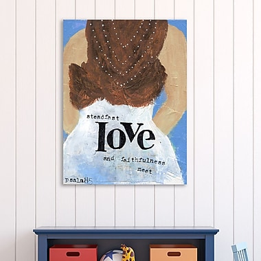 Winston Porter 'Weddings Steadfast Love' Textual Art on Wrapped Canvas; 32'' H x 24'' W