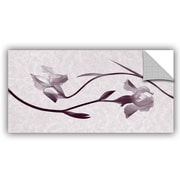 Winston Porter Grafton Iris Melody 2 Wall Decal; 24'' H x 48'' W x 0.1'' D