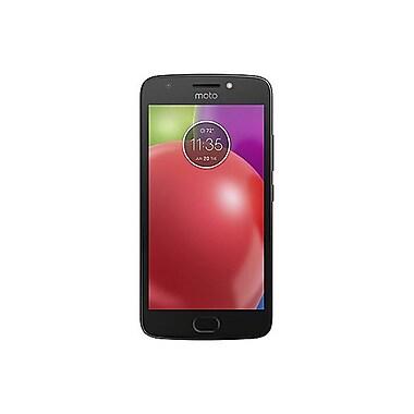 Motorola - Téléphone cellulaire déverrouillé MOTO E4 5 po, 16Go, 1,4 GHz 4 coeurs, Android 7.1.1 Nougat, noir (01187NACRTL)