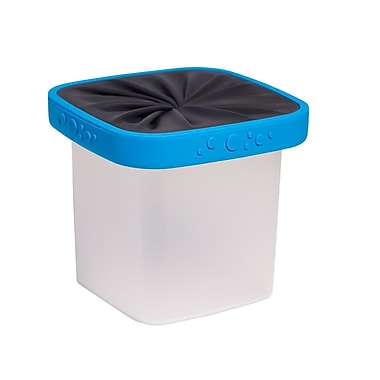 Neolid Box Lucie Food Container with Twist Lid, Blue (B-LUCIE-BLU)