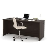 "BESTAR Embassy 71"" Executive Desk, Dark Chocolate (60401-1179)"