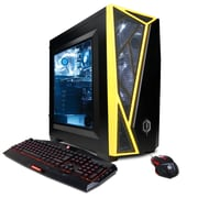 CYBERPOWERPC Gamer Master GMA410 Desktop (AMD Ryzen 5 1600X, 240GB SSD+1TB HDD, 8GB DDR4, Win 10, NVIDIA® GeForce® GTX 1050Ti)