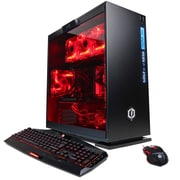 CYBERPOWERPC Gamer Xtreme Liquid Cool GLC2420OPT (Intel i7, 1TB HDD+16GB Optane, 8GB DDR4, Win10, NVIDIA GeForce GTX1050Ti)