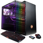 CYBERPOWERPC Gamer Supreme LiquidCool SLC9980 Desktop (Intel i7, 2TB HDD+240GB SSD, 16GB DDR4, Win10, NVIDIA® GeForce® GTX 1080)