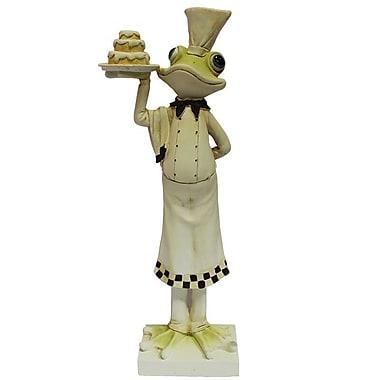Fleur De Lis Living Meghan Ceramic Frog Figurine