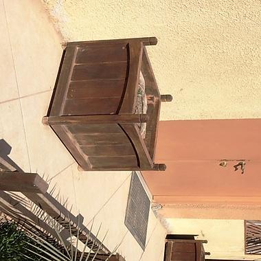 Best Redwood , Mahogany Wood Planter Box; 12'' H x 24'' W x 12'' D