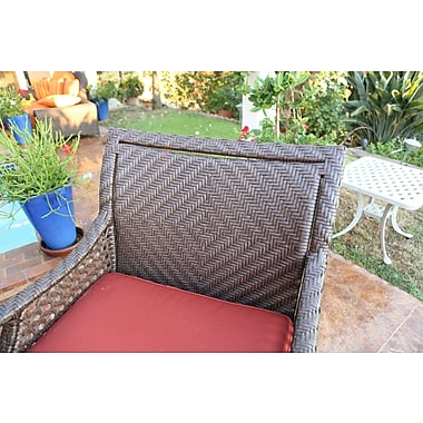 Bayou Breeze Shawny Loveseat w/ Cushions