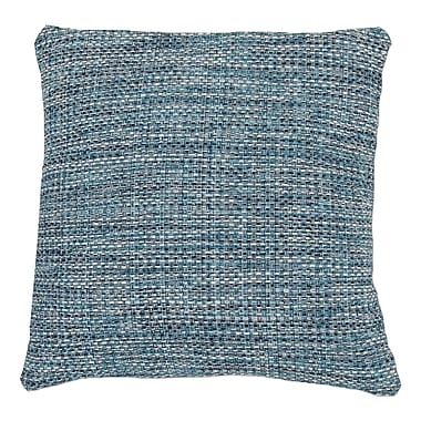 Gracie Oaks Zuzia Square Tweed Pillow Cover