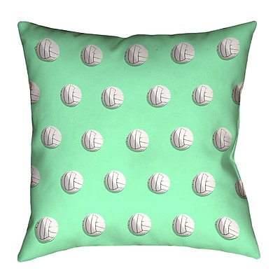 East Urban Home Volleyball Euro Pillow