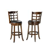 Loon Peak Lawndale 29'' Swivel Bar Stool (Set of 2)