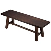 Union Rustic Mylinda Wood Bench