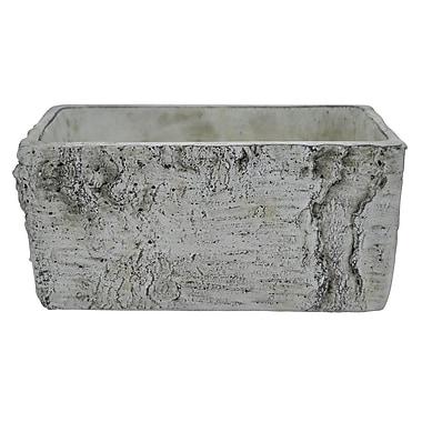 Three Hands Co. Birch Look Ceramic Planter Box