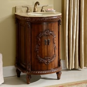 Astoria Grand Willesden 21'' Single Bathroom Vanity Set; Teak