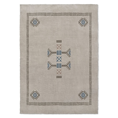 Bungalow Rose Morro Gray Area Rug; 3' x 5'