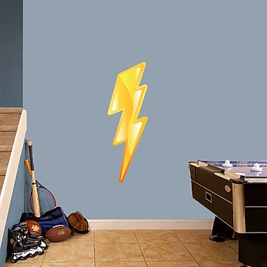 SweetumsWallDecals Lighting Bolt Printed Wall Decal; 36'' H x 12'' W