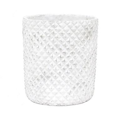 Three Hands Co. Ceramic Pot Planter; 11.5'' H x 10.3'' W x 10.3'' D