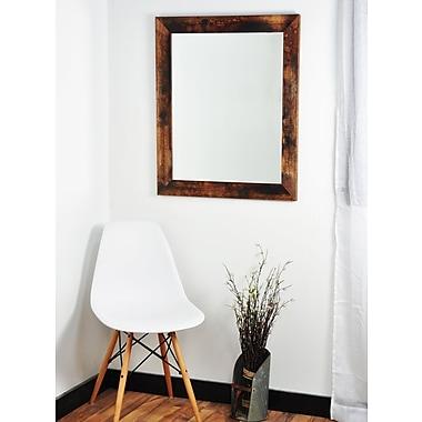 Union Rustic Leanna Bathroom Mirror; 50.5'' H x 32.5'' W x 1.25'' D