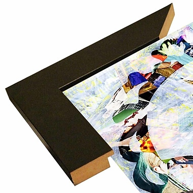 East Urban Home 'Regal Bird' Graphic Art Print; Wrapped Canvas