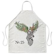 The Holiday Aisle Christmas Deer Apron