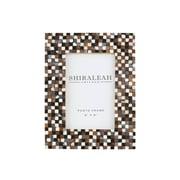 Shiraleah Griggio Mosaic Picture Frame; 6.5'' L x 0.5'' W x 8.5'' H