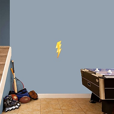 SweetumsWallDecals Lighting Bolt Printed Wall Decal; 12'' H x 4'' W