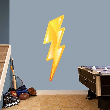 SweetumsWallDecals Lighting Bolt Printed Wall Decal; 48'' H x 16'' W