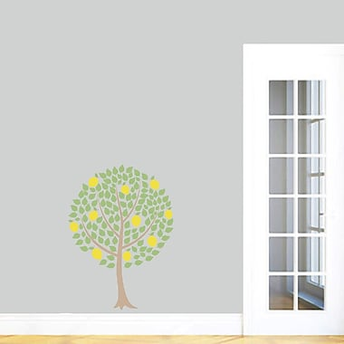SweetumsWallDecals Lemon Tree Printed Wall Decal; 36'' H x 26'' W