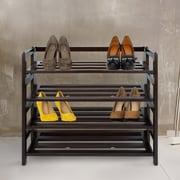 Red Barrel Studio 4-Shelf Folding Shoe Rack