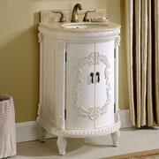 Astoria Grand Willesden 21'' Single Bathroom Vanity Set; Antique White