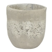 Three Hands Co. Ceramic Pot Planter; 9.5'' H x 9.25'' W x 9.25'' D