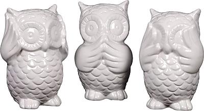 Harriet Bee Iggy 3 Piece Depicting Owl Statue