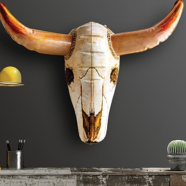The Holiday Aisle Inflatable Cow Skull Wall D cor