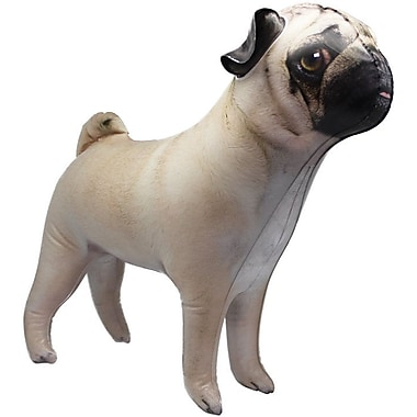 The Holiday Aisle Pug Inflatable Faux Taxidermy