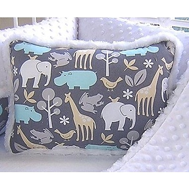Harriet Bee Mars Rectangular Cotton Throw Pillow