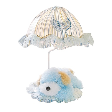 Zoomie Kids Leann 18'' Table Lamp; Blue