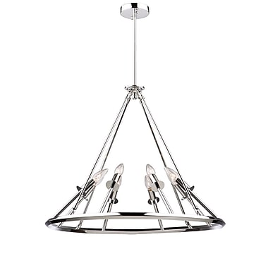 Corrigan Studio Tim 8-Light Candle-Style Chandelier