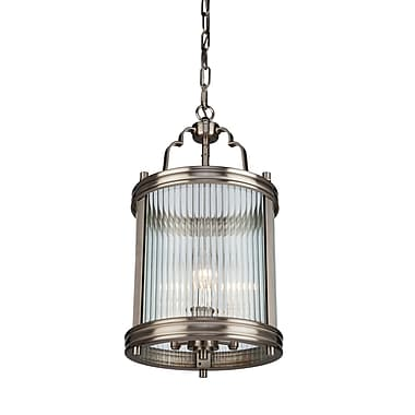 Darby Home Co Stratford Brown Drum Pendant