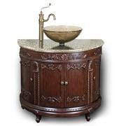 JSG Oceana Semi-Circle Vessel  Sink Vanity