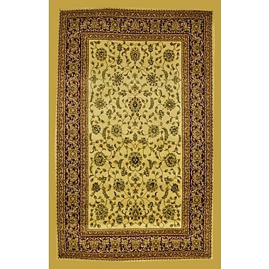 Astoria Grand Priestley Ivory Area Rug; 7'11'' x 9'10''