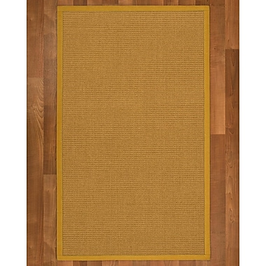 Breakwater Bay Coleridge Sisal Tan Area Rug; 8' X 10'