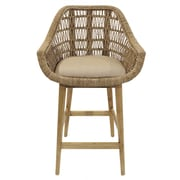 Bloomsbury Market Natazhat Wood Bar Stool