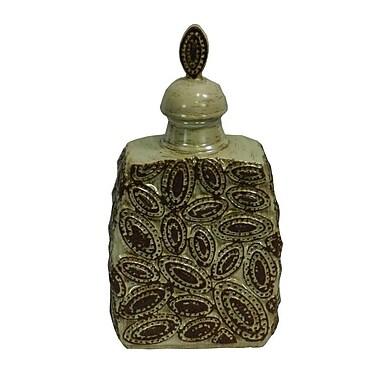 Bloomsbury Market Palm Beach Ceramic Decorative Urn