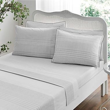 Brielle Stripes 100pct Cotton Duvet Set; Full/Queen