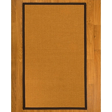 Charlton Home Bullen Sisal Fudge Area Rug; 6' X 9'