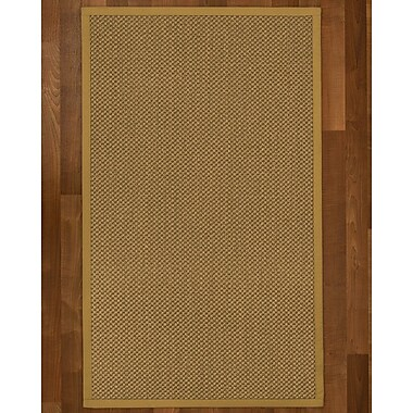 August Grove Loehr Sisal Sage Area Rug; Runner 2'6'' X 8'