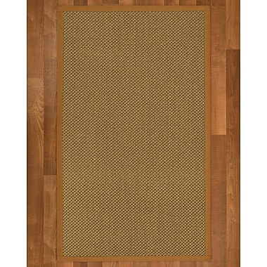 August Grove Loehr Sisal Sienna Area Rug; Runner 2'6'' X 8'